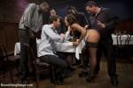 BDSM for a waitress : Gangbang Porn