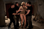 Candy Manson hot babe : Gangbang Porn